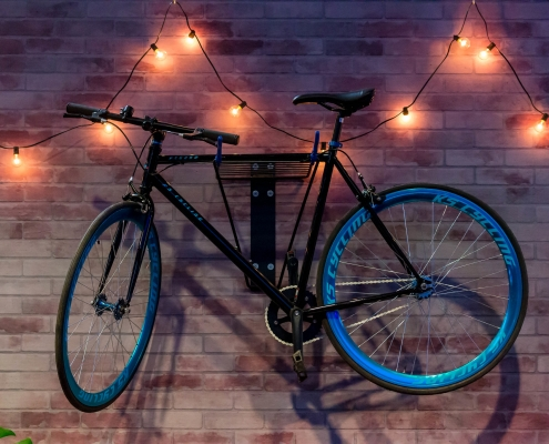 How to Hang a Bike on the Wall
