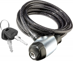 a locked chain lock for a bike
