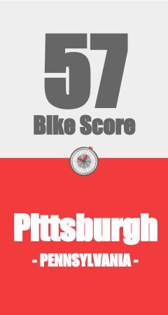 Pittsburgh PA Bike Score