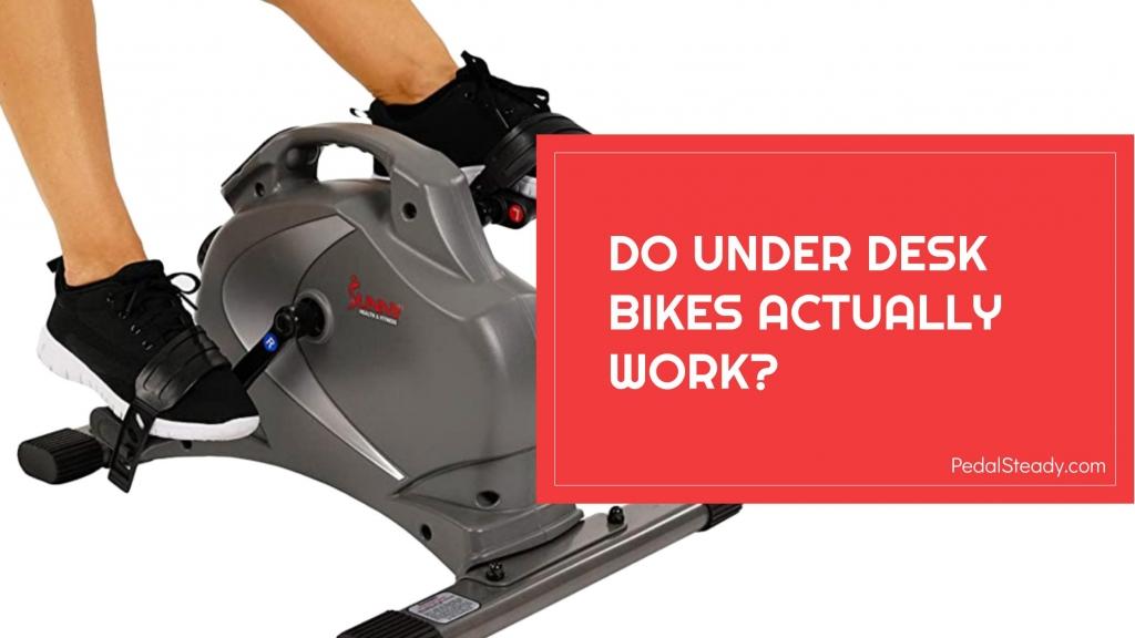 Do Under Desk Bikes Work?